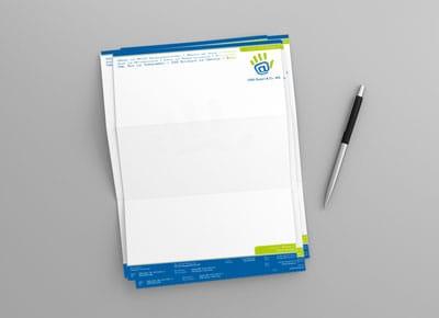Printdesign Beispiel